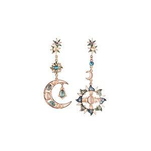 CatstoneNYC Gold-Plated Stud Earrings